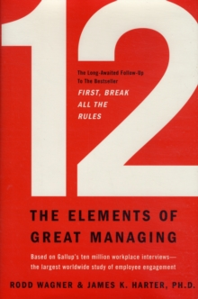 12 : The Elements of Great Managing, Hardback Book