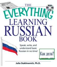 EVERYTHING LEARNING RUSSIAN BOOK WITH CD, Paperback Book