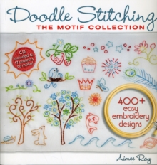 Doodle Stitching: The Motif Collection : 400+ Easy Embroidery Designs, Mixed media product Book