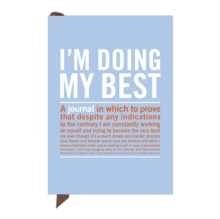 Knock Knock I'm Doing My Best Mini Inner-Truth Journal, Notebook / blank book Book