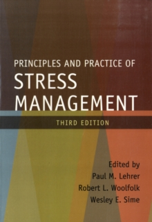 Principles and Practice of Stress Management, Paperback Book