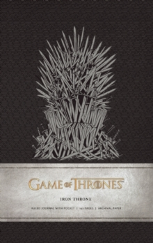 Game of Thrones: Iron Throne Hardcover R, Hardback Book