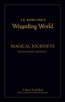J.K. Rowling's Wizarding World: Travel J, Paperback Book