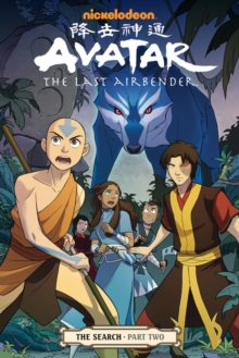 Avatar: The Last Airbender#the Search Part 2, Paperback Book