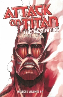 Attack On Titan: The Beginning Box Set, Paperback Book
