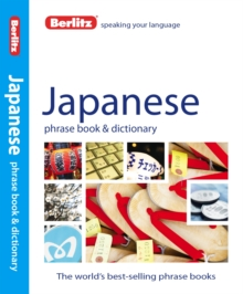 Berlitz: Japanese Phrase Book & Dictionary, Paperback Book