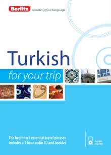 Berlitz Language: Turkish for Your Trip, Mixed media product Book