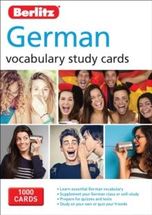 Berlitz Language: German Vocabulary Study Cards