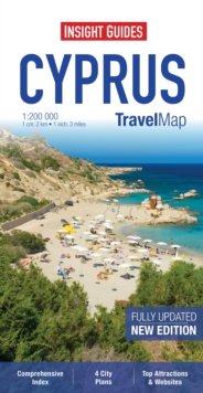 Insight Travel Map: Cyprus, Sheet map Book