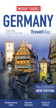 Insight Travel Map: Germany, Sheet map Book