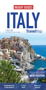 Insight Travel Map: Italy, Sheet map Book