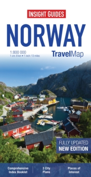 Insight Travel Map: Norway, Sheet map Book