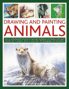 Drawing and Painting Animals : How to Create Beautiful Artworks of Mammals, Amphibians and Reptiles, with Expert Tutorials and 14 Projects Shown in More Than 470 Photographs and Illustrations, Paperback Book
