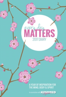 Everyday Matters Desk Diary 2017, Paperback Book