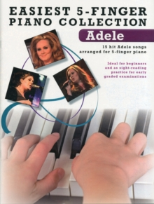 Easiest 5-Finger Piano Collection : Adele, Paperback Book