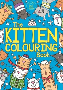 Kitten Colouring Book, Paperback Book