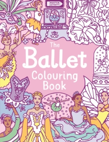 The Ballet Colouring Book, Paperback Book