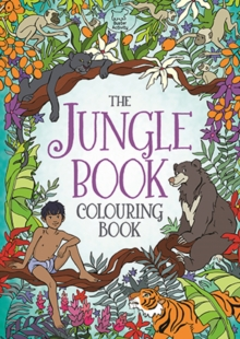 The Jungle Book Colouring Book, Paperback Book