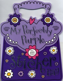 My Perfectly Purple Sticker Bag, Paperback Book
