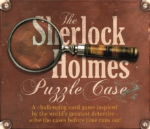Sherlock Holmes Puzzle Case, Mixed media product Book