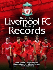 The Official Liverpool FC Book of Records, Hardback Book