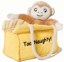 DEAR ZOO MONKEY 8 INCH SOFT TOY,  Book