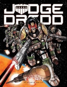 Judge Dredd: Titan, Paperback Book