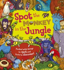 Spot the Monkey in the Jungle, Paperback Book