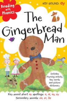 The Gingerbread Man, Hardback Book