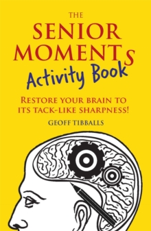 The Senior Moments Activity Book, Paperback Book