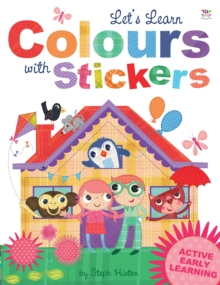 Let's Learn Colours with Stickers, Paperback Book