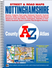 Nottinghamshire County Atlas, Spiral bound Book