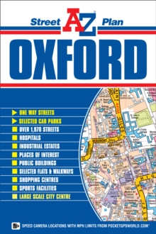 Oxford Street Plan, Sheet map, folded Book