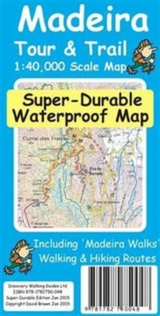 Madeira Tour & Trail Super-Durable Map, Sheet map, folded Book