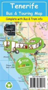 Tenerife Bus & Touring Map, Sheet map, folded Book