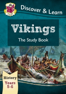 KS2 Discover & Learn: History - Vikings Study Book, Year 5 & 6, Paperback Book