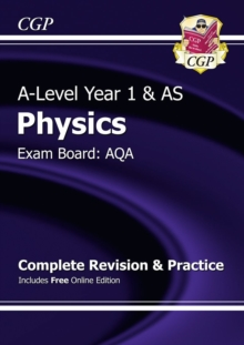 New A-Level Physics: AQA Year 1 & AS Complete Revision & Practice with Online Edition, Paperback Book