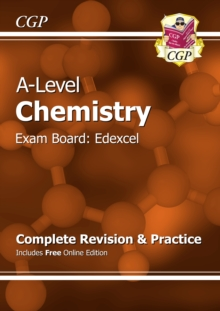 New A-Level Chemistry: Edexcel Year 1 & 2 Complete Revision & Practice with Online Edition : Exam Board Edexcel, Paperback Book