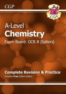New A-Level Chemistry: OCR B Year 1 & 2 Complete Revision & Practice with Online Edition, Paperback Book
