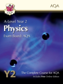 New A-Level Physics for AQA: Year 2 Student Book with Online Edition, Paperback Book