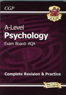 New A-Level Psychology: AQA Year 1 & 2 Complete Revision & Practice, Paperback Book