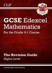 New GCSE Maths Edexcel Revision Guide: Higher - for the Grade 9-1course with Online Edtion, Paperback Book