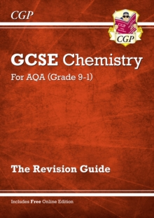 New Grade 9-1 GCSE Chemistry: AQA Revision Guide with Online Edition, Paperback Book