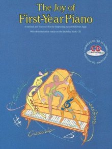 The Joy Of First-Year Piano (With CD), Paperback Book