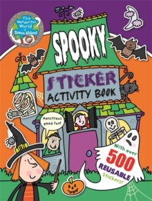 The Wonderful World of Simon Abbott: Spooky Sticker Activity Book, Paperback Book