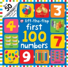 Lift-the-Flap First 100 Numbers, Board book Book
