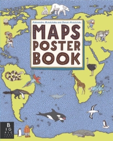 Maps Poster Book, Paperback Book