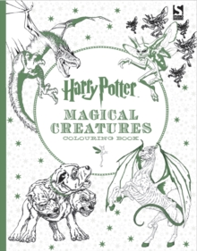 Harry Potter Magical Creatures Colouring Book, Paperback Book