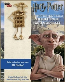 IncrediBuilds: House-Elves : Deluxe Book and Model Set, Hardback Book