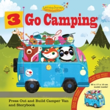 Three Go Camping, Hardback Book